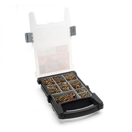TCD Wood Screw Organiser - 1100 Multi-Purpose Pro Wood Screw Kit